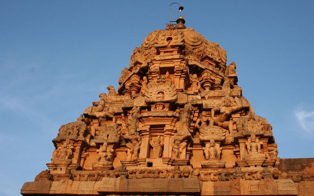 Temple de Brihideshwara à Tanjore