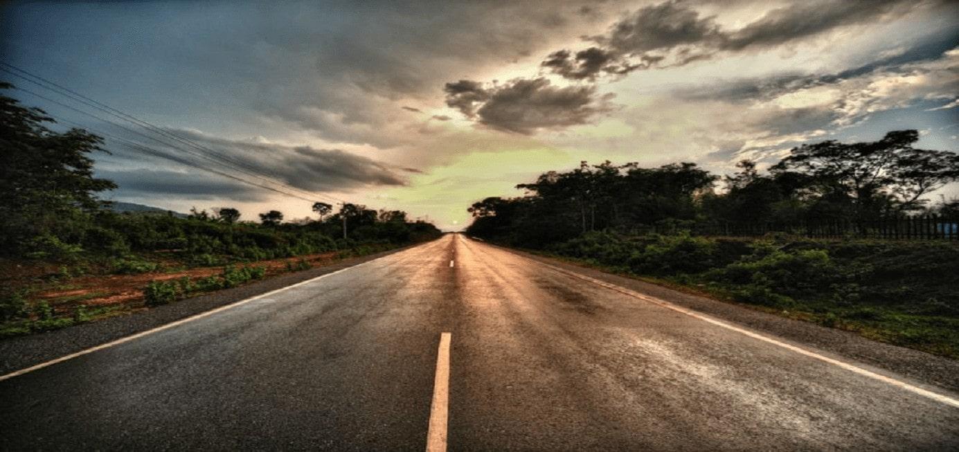 autoroute au Laos