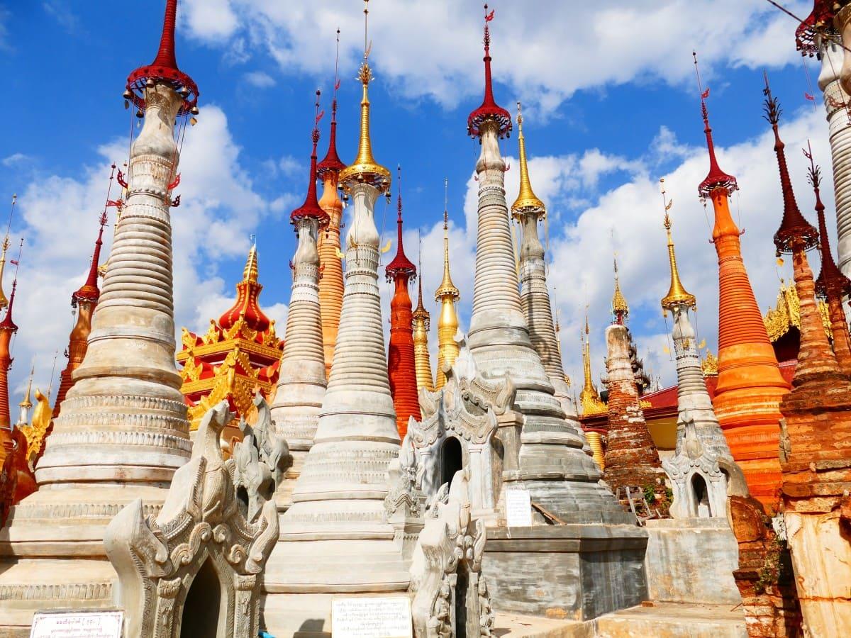 temple Bouddhiste Birmanie