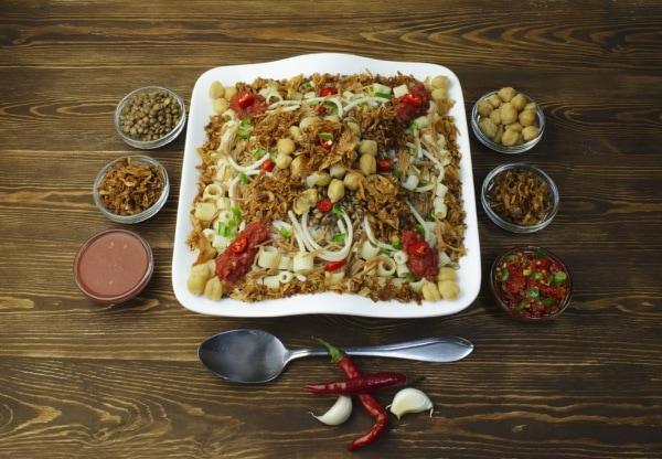 La cuisine de l'Egypte