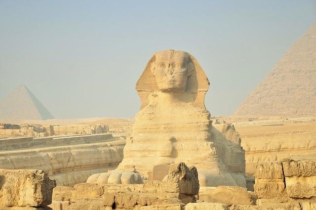 Sphinx en Egypte