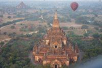 Birmanie vol Montgolfier
