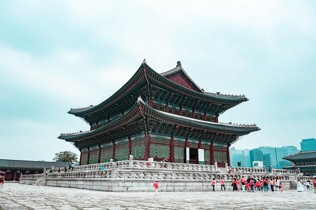 Corée du Sud - temple