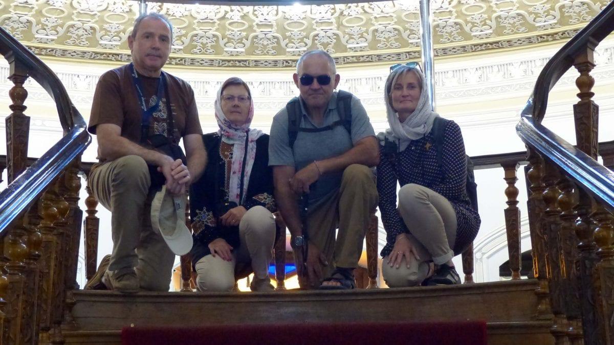groupe de voyage in en Iran